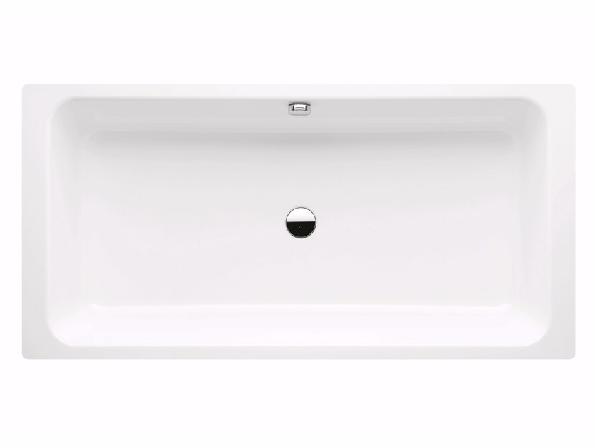 Enamelled steel bathtub BASSINO by Kaldewei Italia
