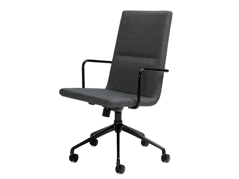 Height-adjustable task chair with 5-Spoke base BASSO | Chair with 5-spoke base by Inno