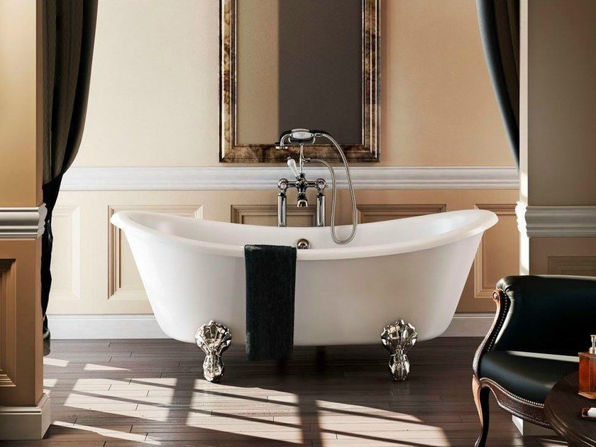 Oval bathtub on legs BATEAU by Polo