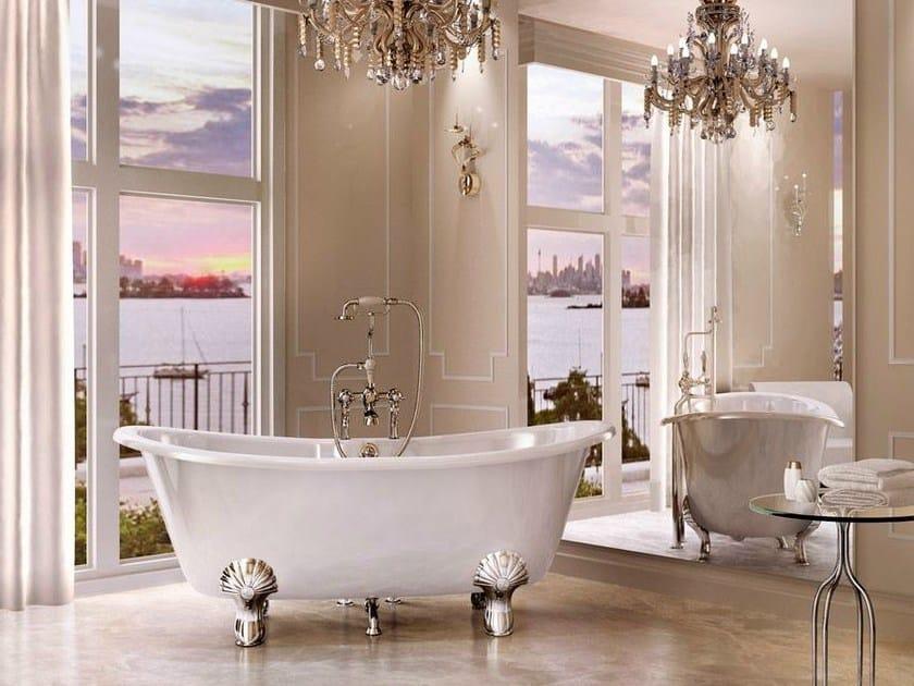 Freestanding oval bathtub on legs BATELLO by Polo