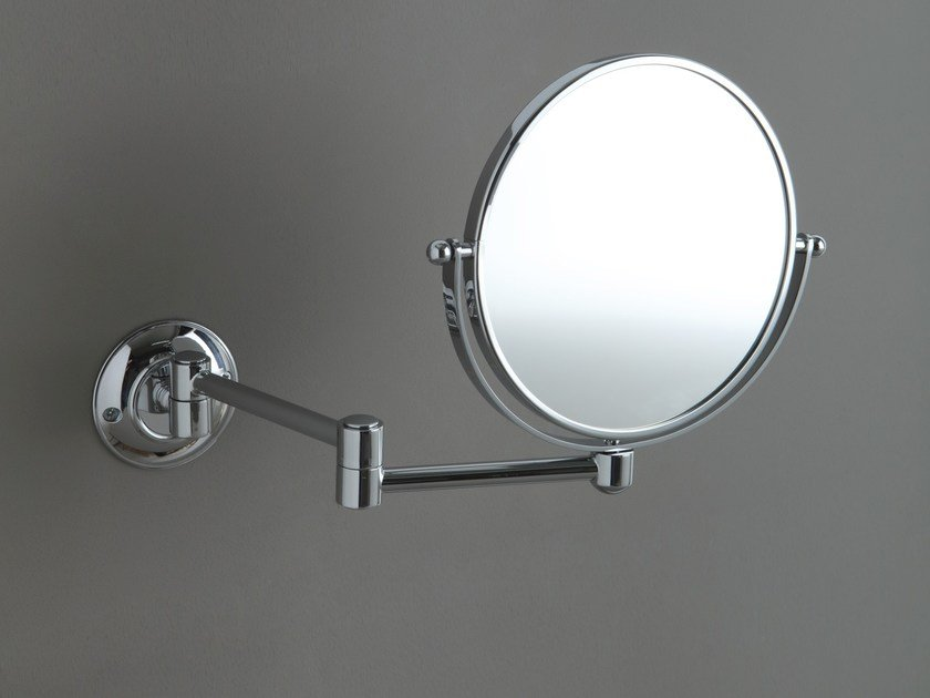 Wall-mounted shaving mirror AB227 | Shaving mirror by BLEU PROVENCE
