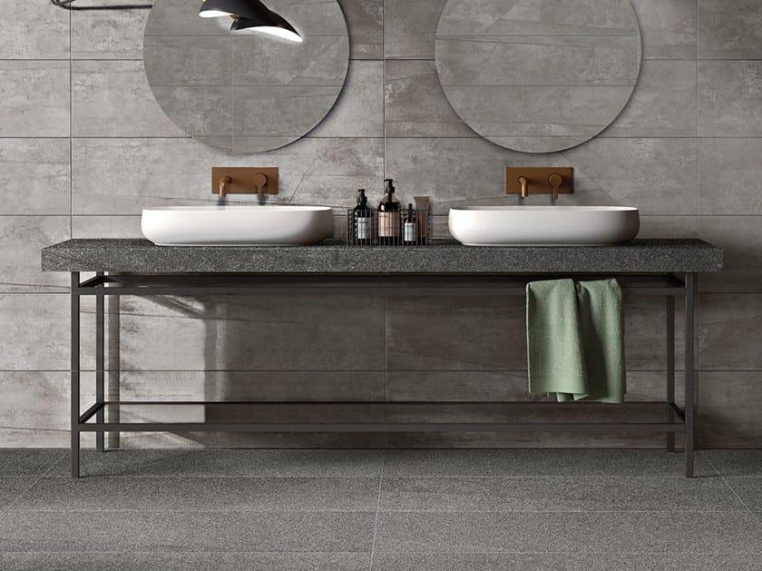 Plan de toilette en grès cérame BATH DESIGN | Plan de toilette by Flaviker