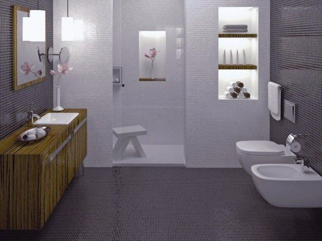 Bathroom furniture set BATHROOM CONTRACT by CARMENTA