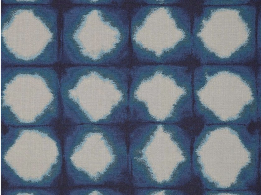 Synthetic fibre fabric with graphic pattern BATIK by Gancedo