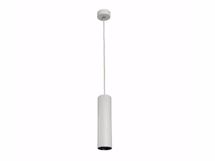 LED direct light powder coated aluminium pendant lamp BATON_P by Linea Light Group