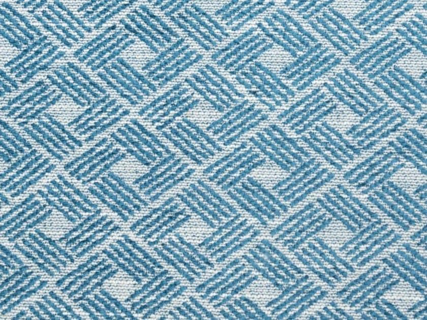 Tessuto in fibra sintetica con motivi grafici BATONS by Gancedo