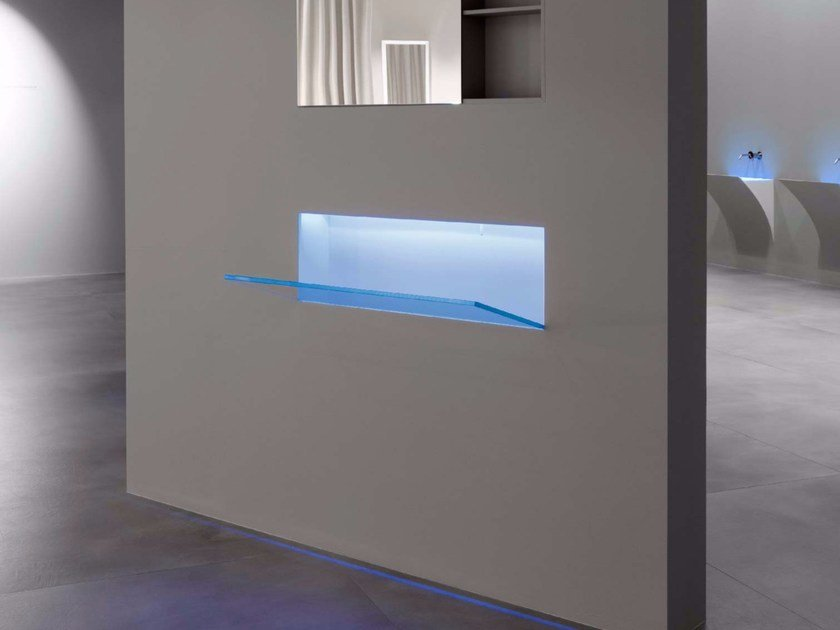 Lavabo in Corian® BATTIGIA - Antonio Lupi Design