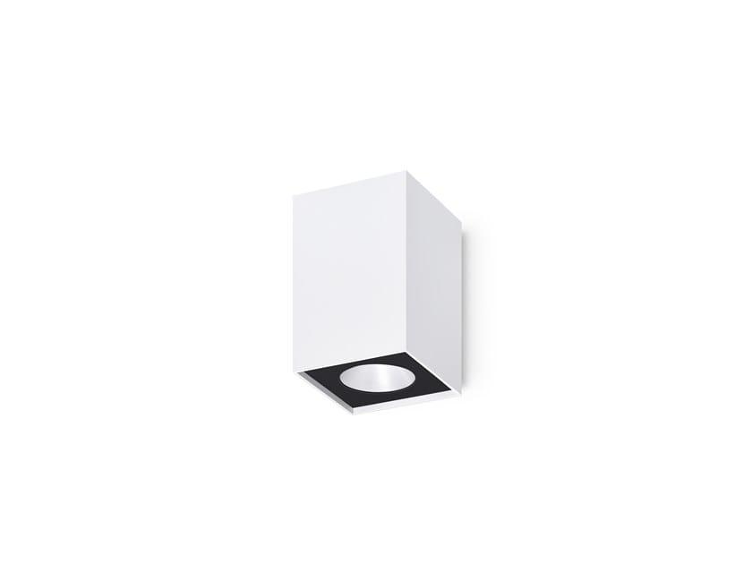 LED wall light BATU SQ/W by INDELAGUE | ROXO Lighting