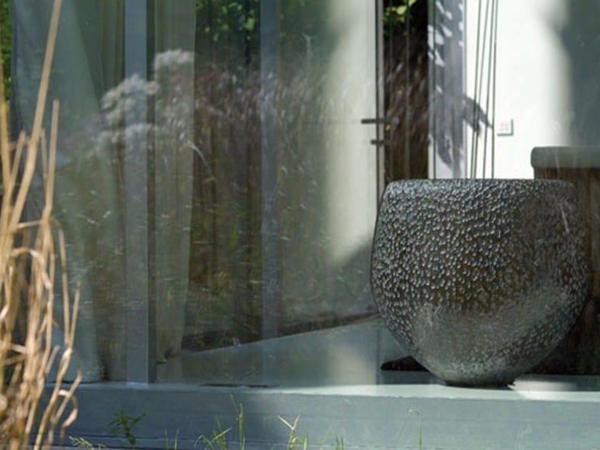 Terracotta vase BATUR by Domani