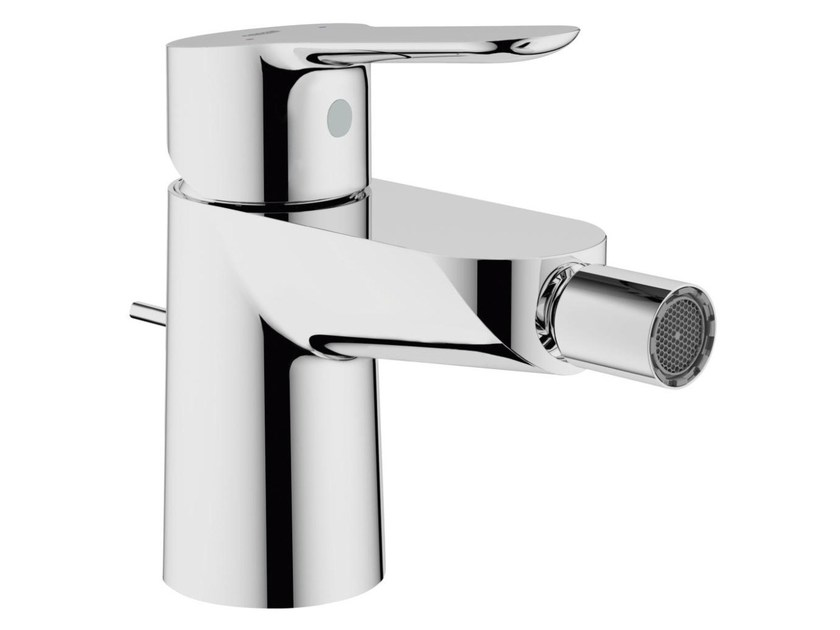 Countertop single handle bidet mixer with swivel spout BAUEDGE | Bidet mixer by Grohe