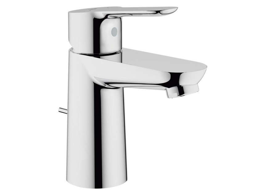 Countertop single handle washbasin mixer BAUEDGE   Washbasin mixer with pop up waste by Grohe