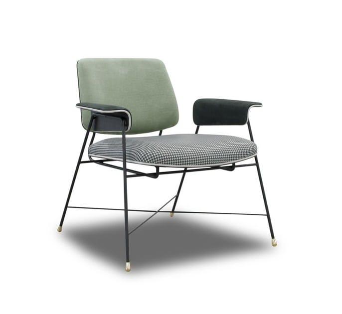 petit fauteuil rembourr en cuir de style contemporain avec accoudoirs bauhaus special edition. Black Bedroom Furniture Sets. Home Design Ideas