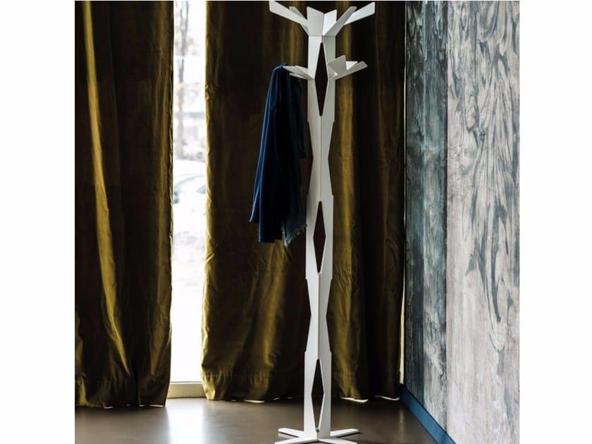 Steel coat stand BAUM by Cattelan Italia