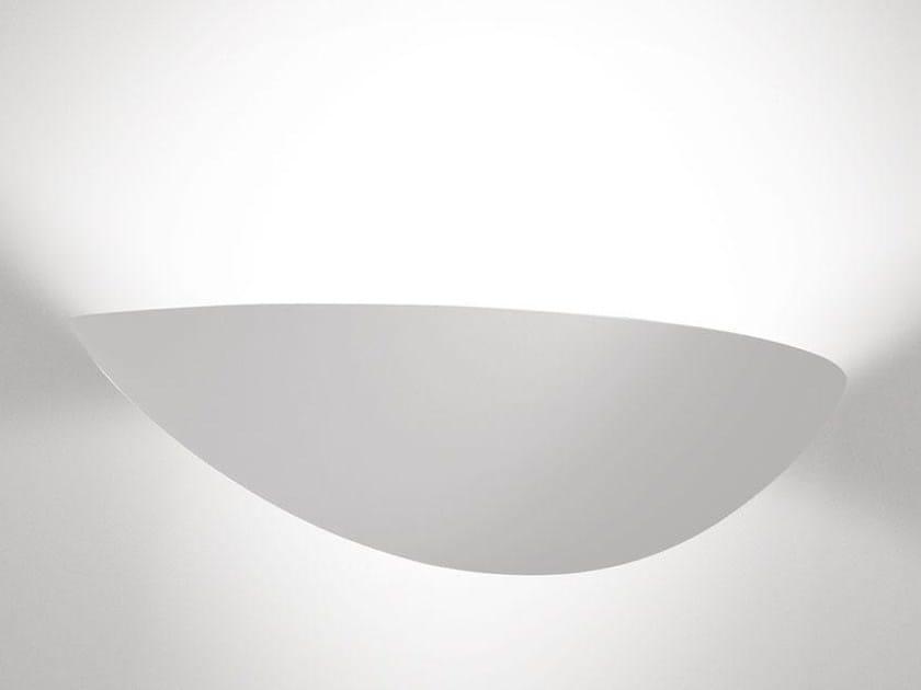 Direct-indirect light Coral® wall light BAUTA ELLISSE by Buzzi & Buzzi