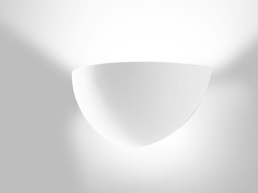 Lampada da parete a luce indiretta in AirCoral® BAUTA SFERA by Buzzi & Buzzi