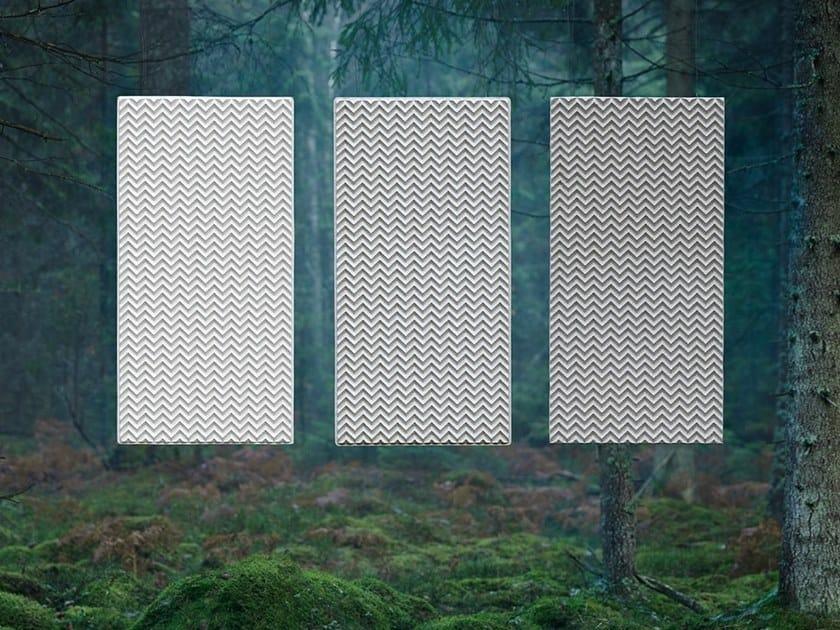 Panneau acoustique décoratif résistant au feu en fibre de cellulose BAUX ACOUSTIC PULP by BAUX