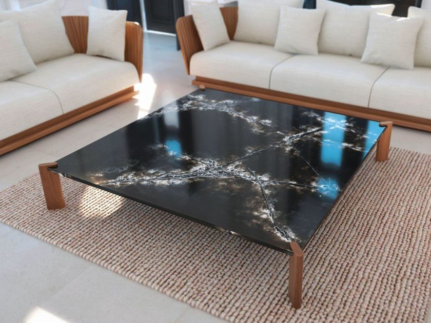 Low coffee table for living room BAY by Punt