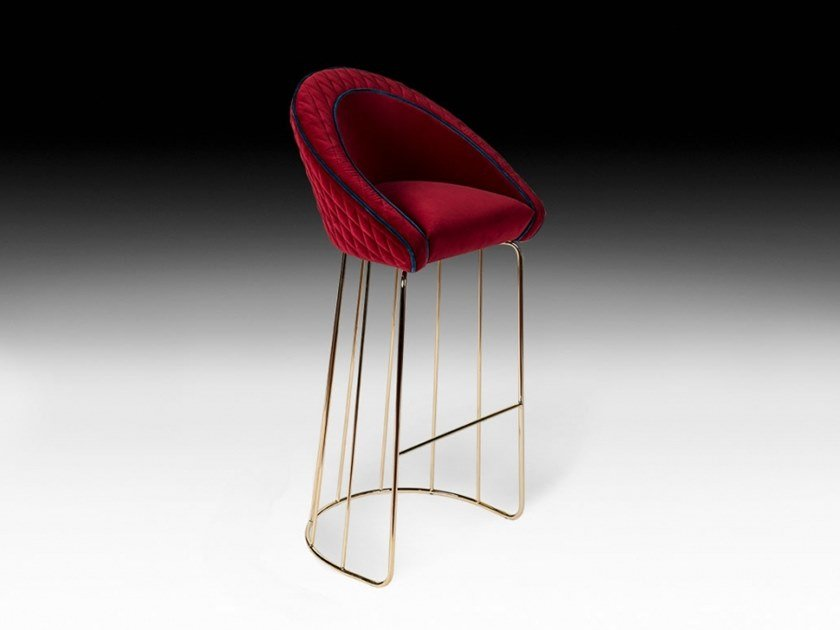 High barstool with footrest BAY by VGnewtrend