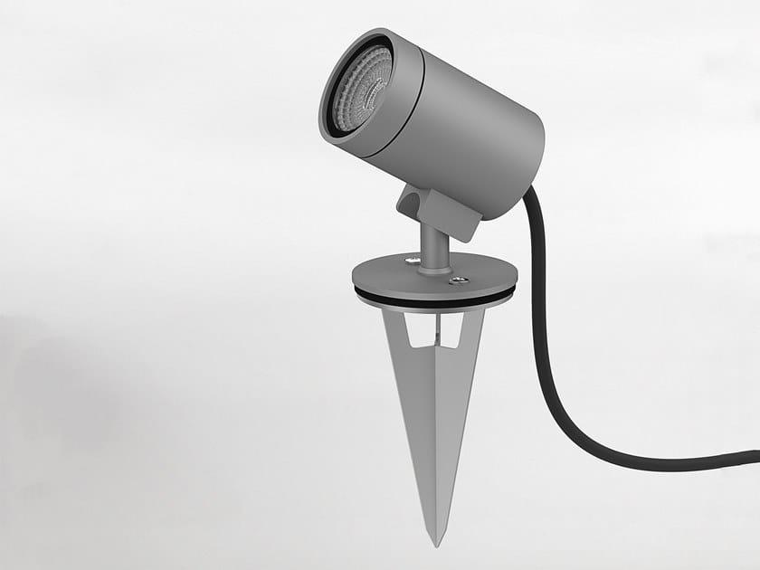 LED aluminium Outdoor floodlight BAYVILLE SPIKE SPOT by Astro Lighting