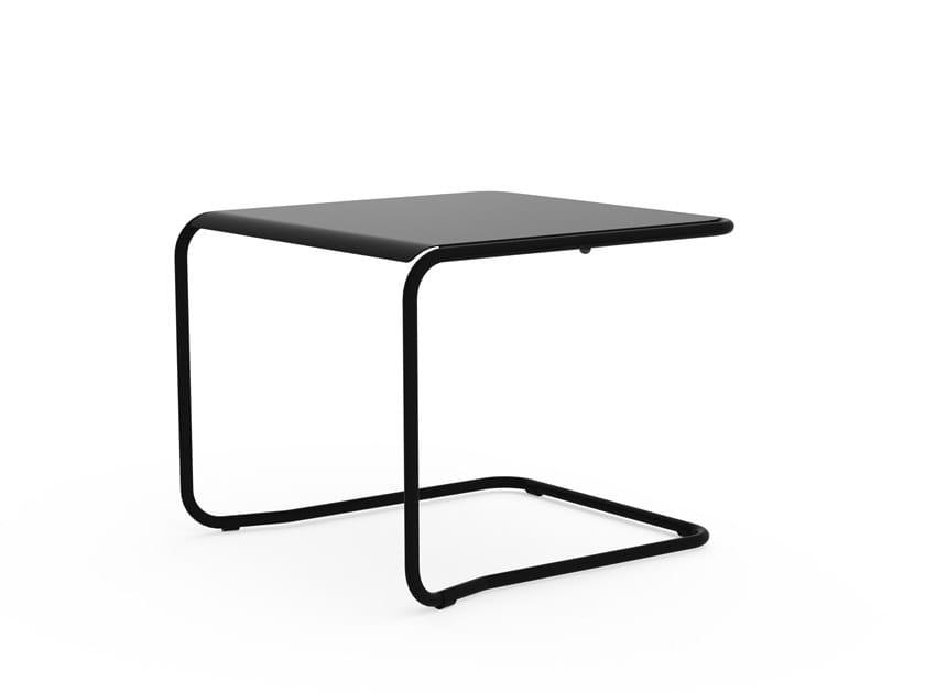 Tavolino quadrato in metallo BAZE by Adico