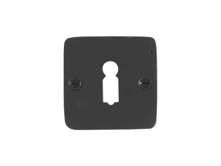 Square keyhole escutcheon PURE 7683 by Dauby