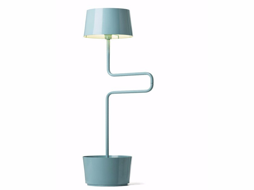 Plate floor lamp BB by Officine Tamborrino
