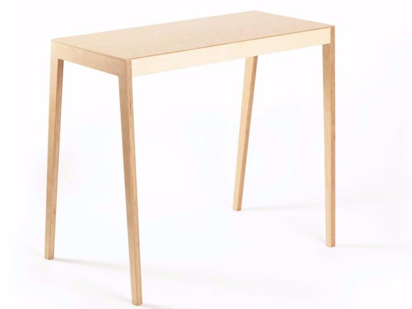 Rectangular multi-layer wood table BB | Table by MALHERBE EDITION