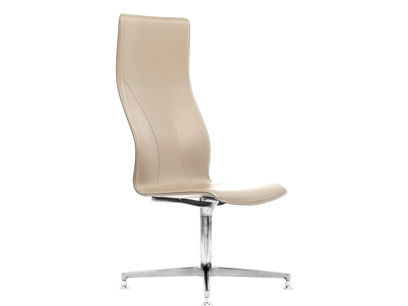 High-back executive chair with 4-spoke base BB641.3 | Executive chair by Kleos