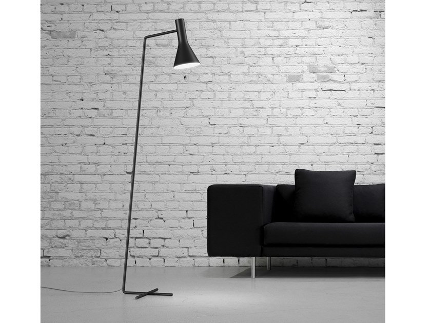 LED adjustable metal floor lamp BE GOOD | Floor lamp by Marzais Créations