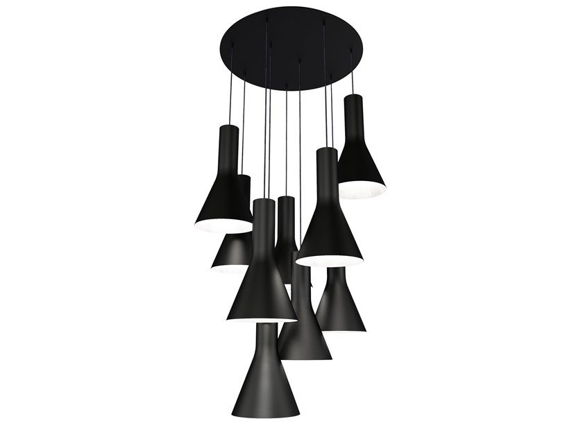LED metal pendant lamp BE GOOD   Pendant lamp by Marzais Créations