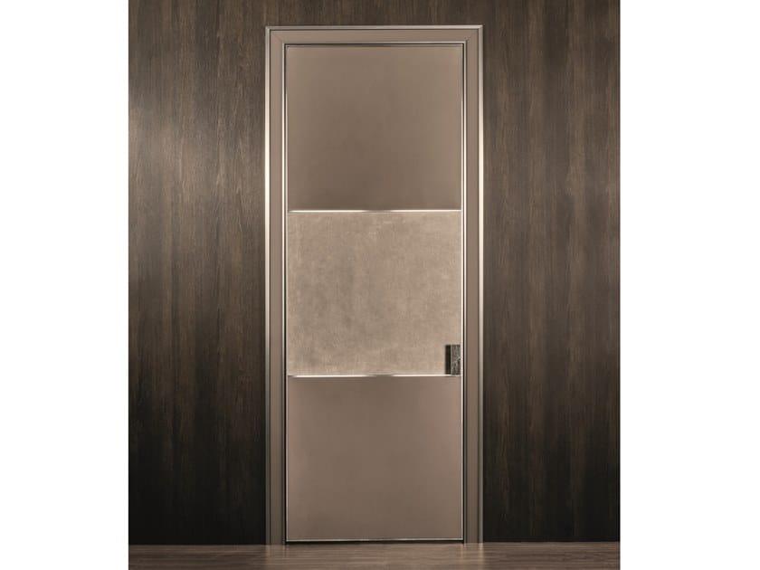 Leather sliding door BE MINE | Sliding door by Longhi