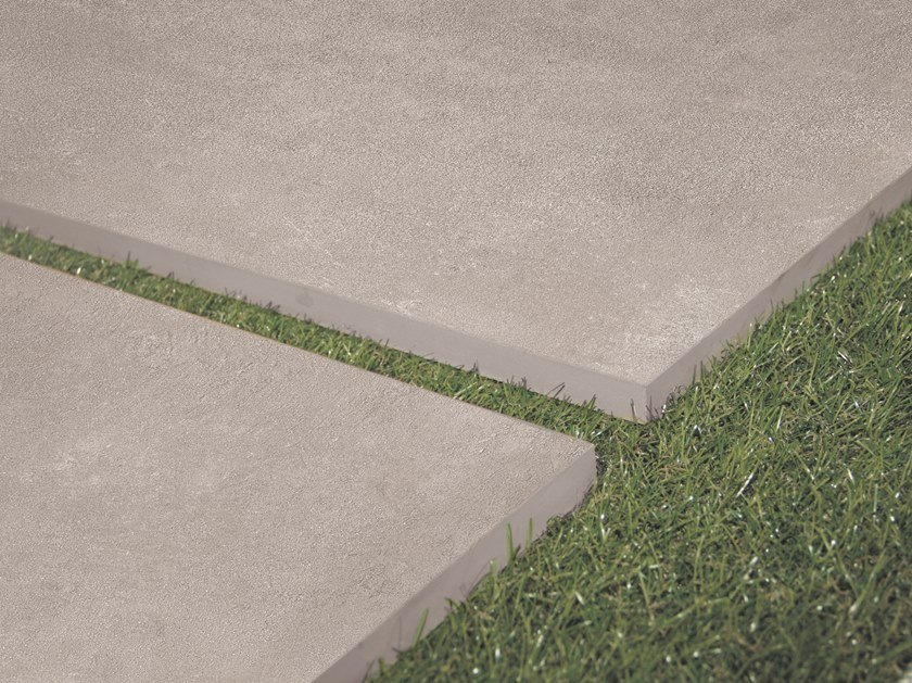 Porcelain stoneware outdoor floor tiles BE-SQUARE 20mm by EmilCeramica