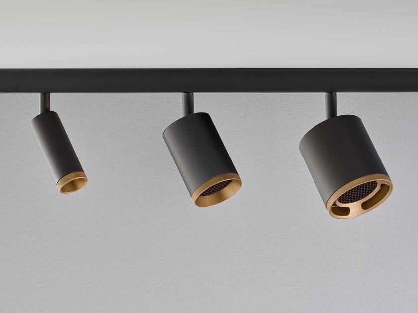 Illuminazione a binario in metallo BEAM MASTER TRACK by Olev