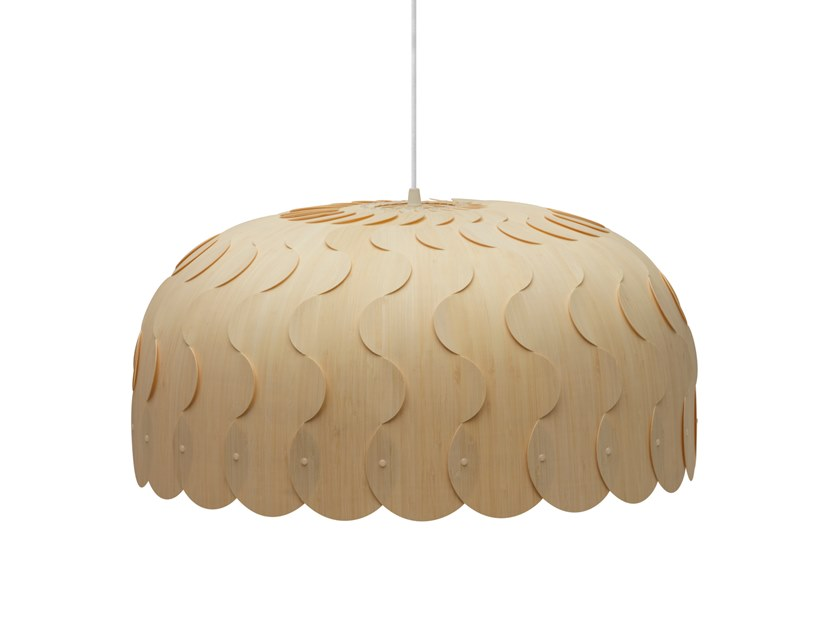 Pendant lamp BEAU | Pendant lamp by David Trubridge