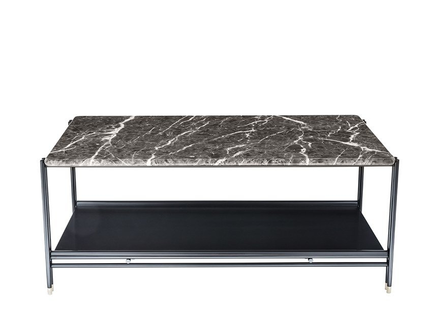 Rectangular marble coffee table BEEN | Marble coffee table by HC28