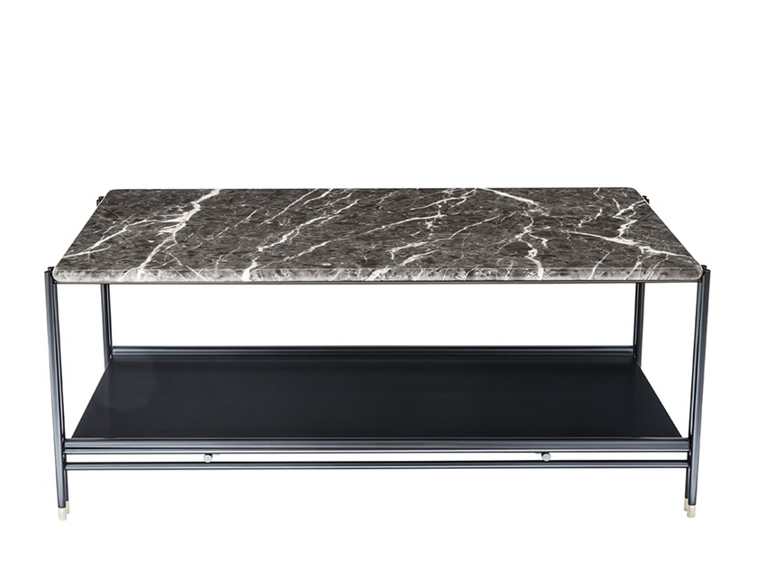 Rectangular marble side table BEEN   Side table by HC28