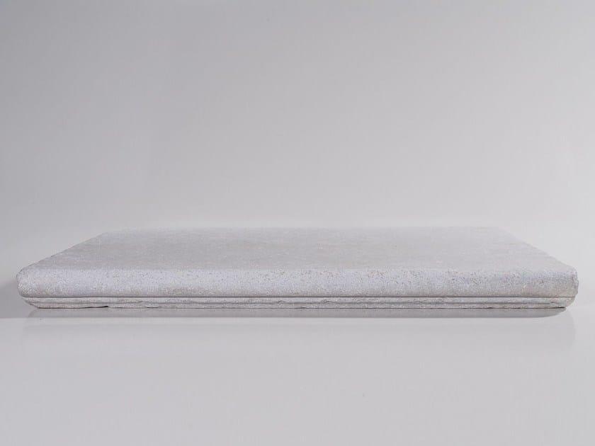 Gradino in pietra con cornice BEIGE | Gradino con cornice by TWS
