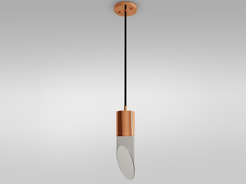 Brass pendant lamp BEIJING by Emotional Projects