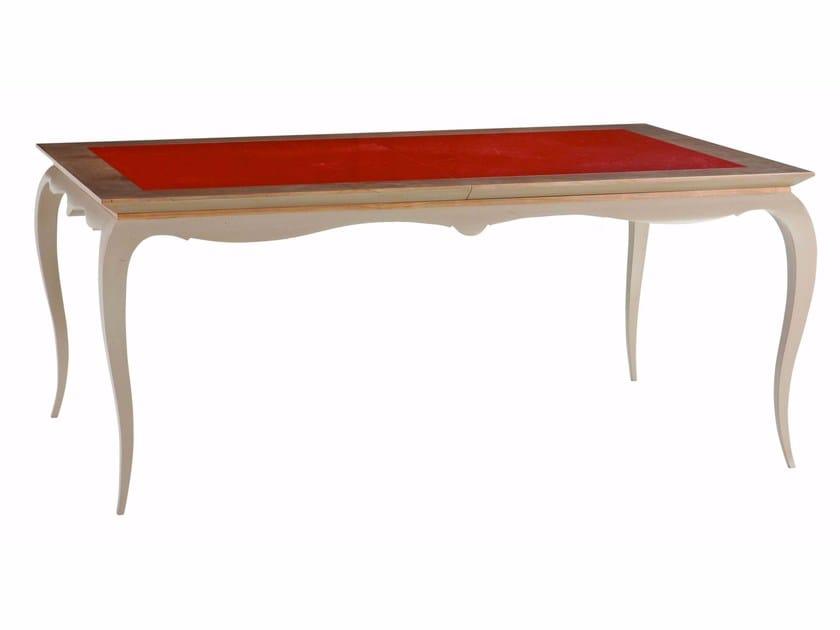 Tavoli Da Pranzo In Legno Allungabili : Tavolo da pranzo allungabile rettangolare in legno bel ami by