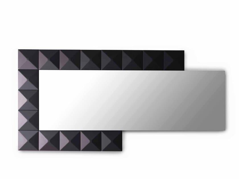 Specchio rettangolare da parete con cornice BEL.MONDO   Specchio ...