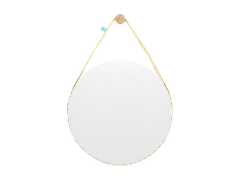 Round wall-mounted mirror BELA Big by DAM