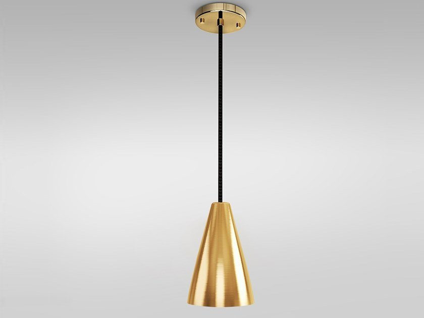 Brass pendant lamp BELGRADE by Emotional Projects