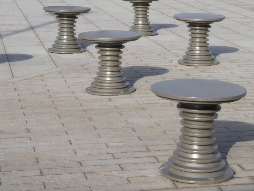 Metal outdoor chair BELL'ORA | Metal outdoor chair by GHM-ECLATEC