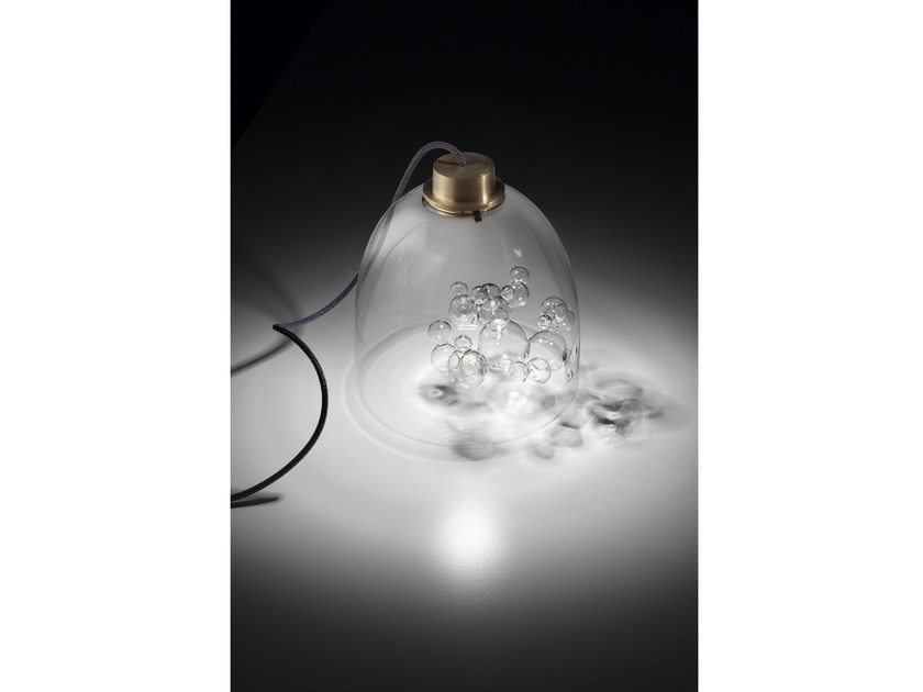 Blown Glass Table Lamp DOME | Table Lamp By Melogranoblu