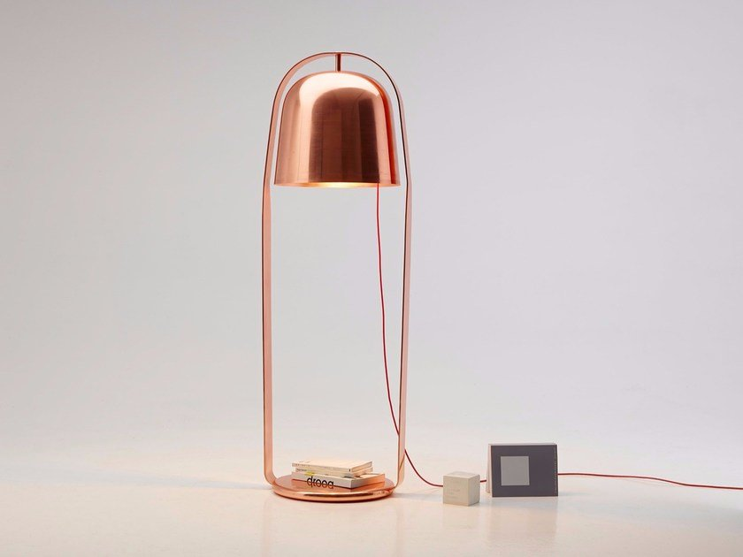 Direct Light Copper Floor Lamp Bella By Per Use Design Lucie Koldova