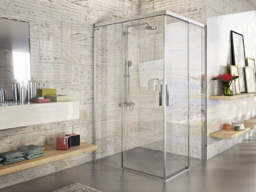 BELLA VITA 3   Corner shower cabin - Domus