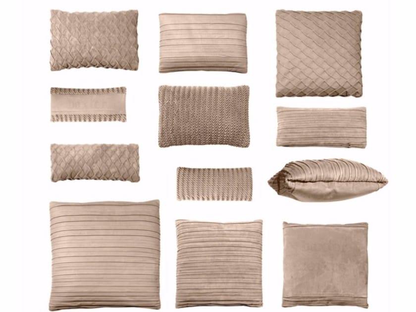 Leather sofa cushion BELLE DE JOUR by BAXTER
