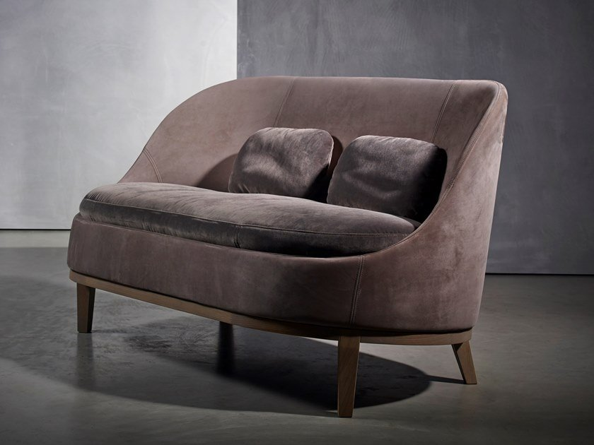 Fabric small sofa BELLE | Small sofa by Piet Boon