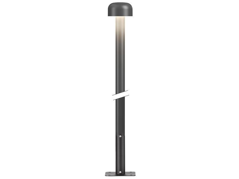 Lampione da giardino a LED in alluminio con base BELLHOP | Lampione da giardino by Flos