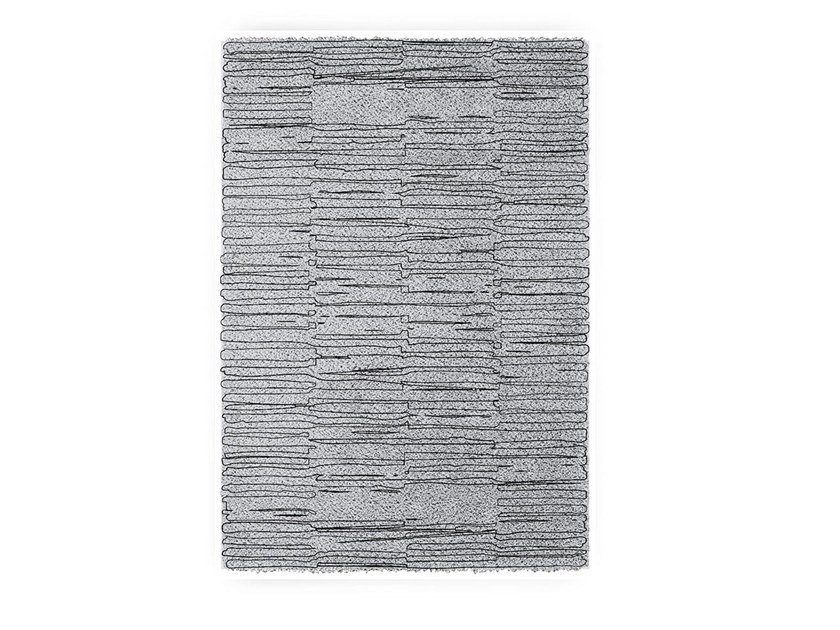 Tappeto rettangolare in lana BEMBA by BRABBU